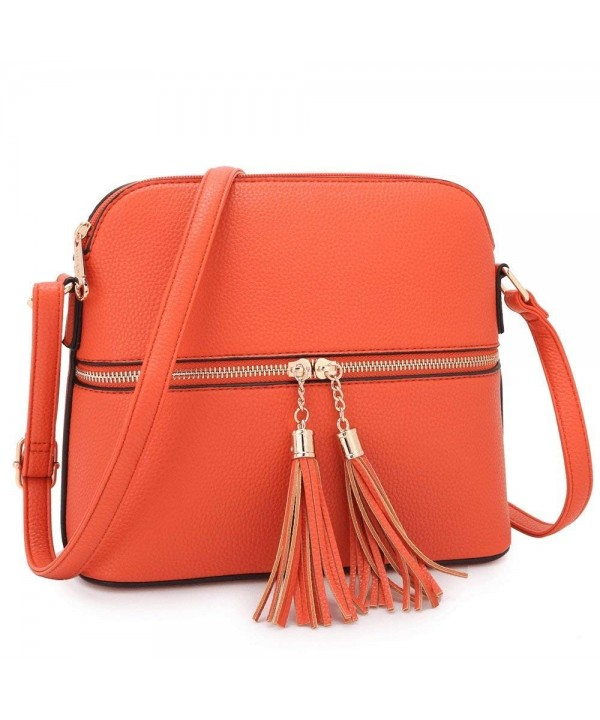 collection Designer Women Womens Crossbody Z 7660 Orange