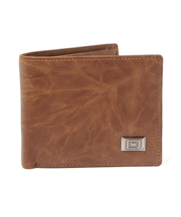 RFID Wallet Leather Bifold Western