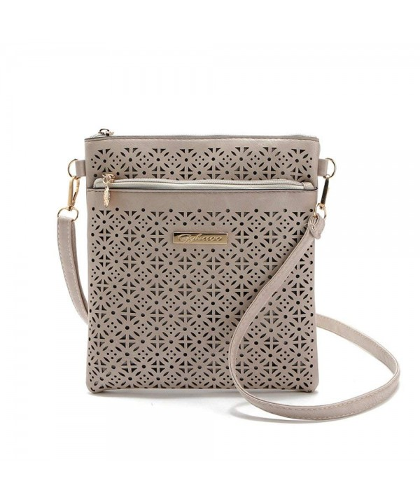 Hollow Handbags Leather Shoulder Messenger