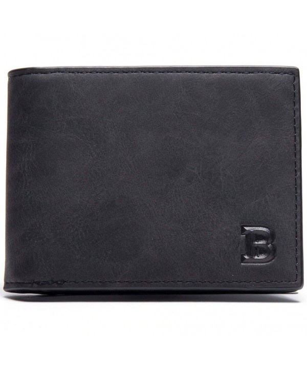 Schumarson Leather Bifold Wallet Minimalist