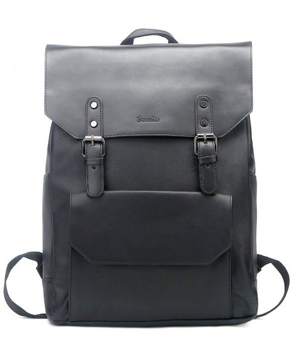 ZEBELLA Vintage Leather Backpack College