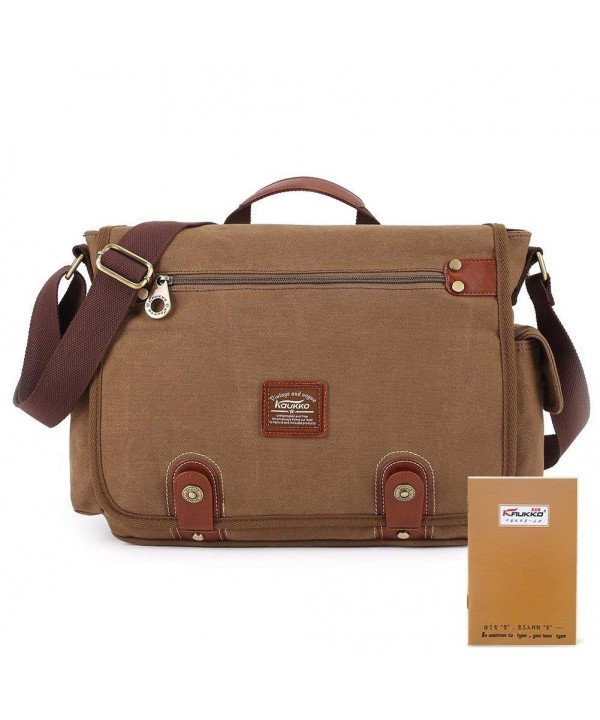 KAUKKO Vintage Messenger Multifunction Shoulder