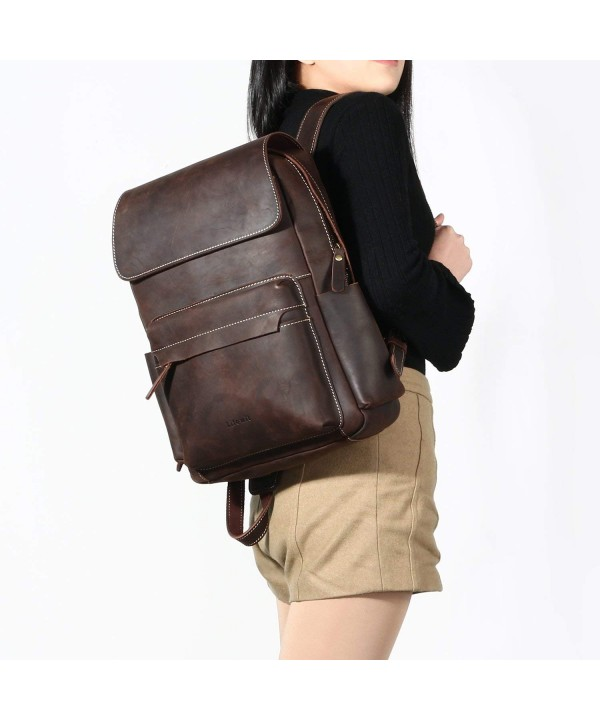 44cd353622 Leather Mini Backpack Purse Stylish Casual Fashion Bookbag for Women ...