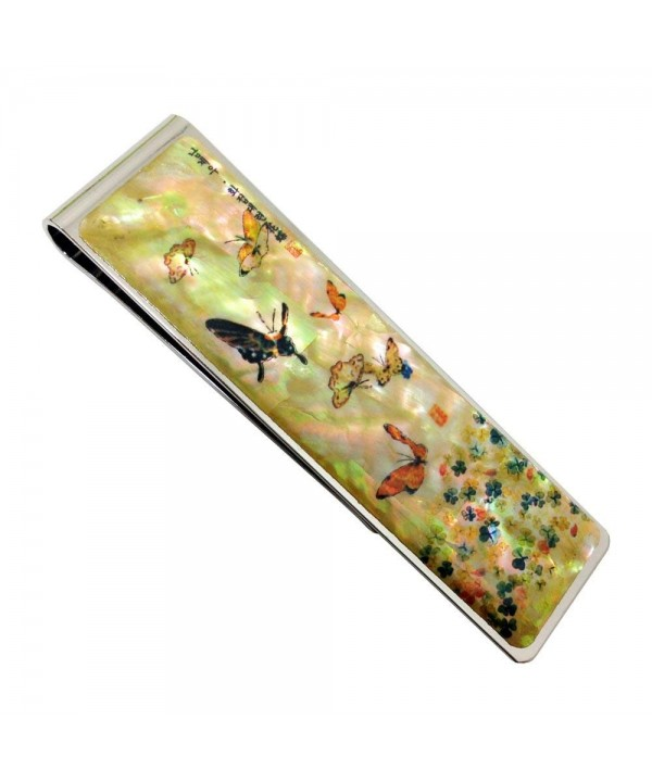 Mother Colorful Clover Butterfly Stainless