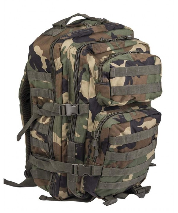 Military Tactical Rucksack Backpack Woodland