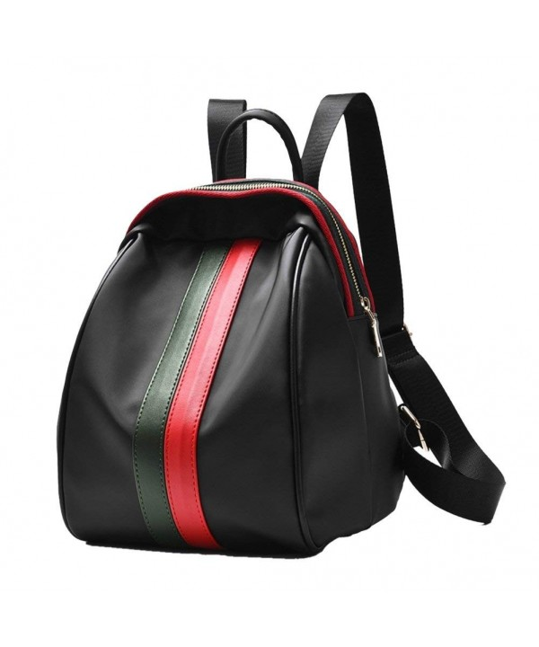 Leather Backpack Travel Bookbags Fashion