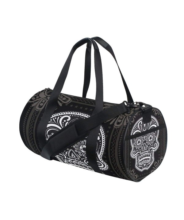 JSTEL Black Sports Travel Duffel