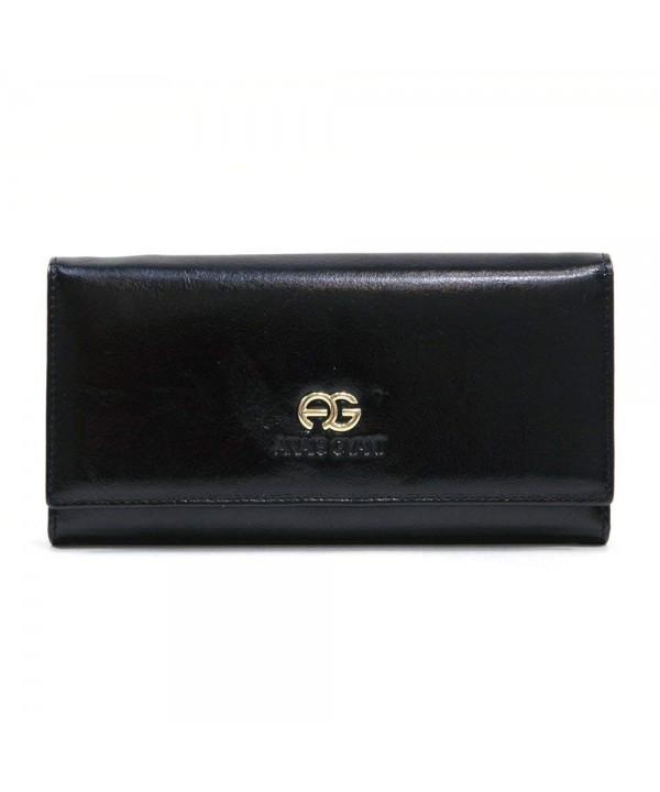 Anais Gvani Genuine Leather Tri fold