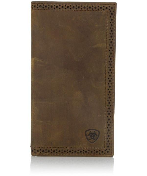 Ariat Shield Perforated Wallet Distressed