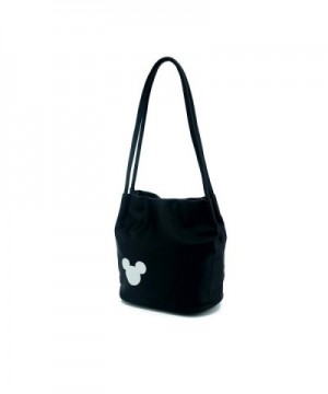 SSJ Mickey Shoulder Leather Bucket