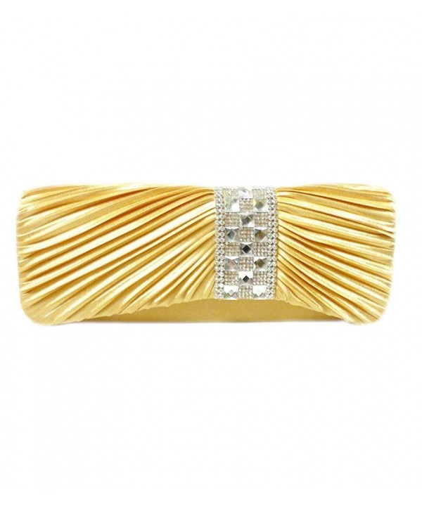 Checker Radiant Crystal Clutch 10 inch