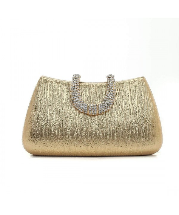 Damara Elegant Metallic Closure Evening