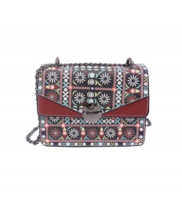 Floral Chain Cross body Shoulder floral
