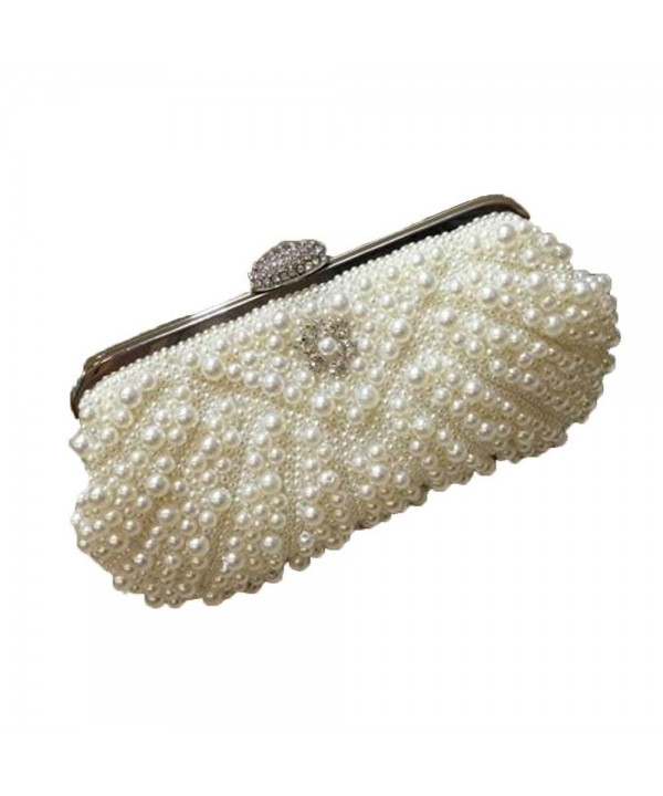 Evening Rhinestone Handbags Wedding Champagne