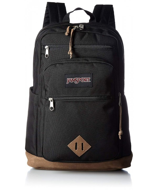 JanSport Wanderer Laptop Backpack Black