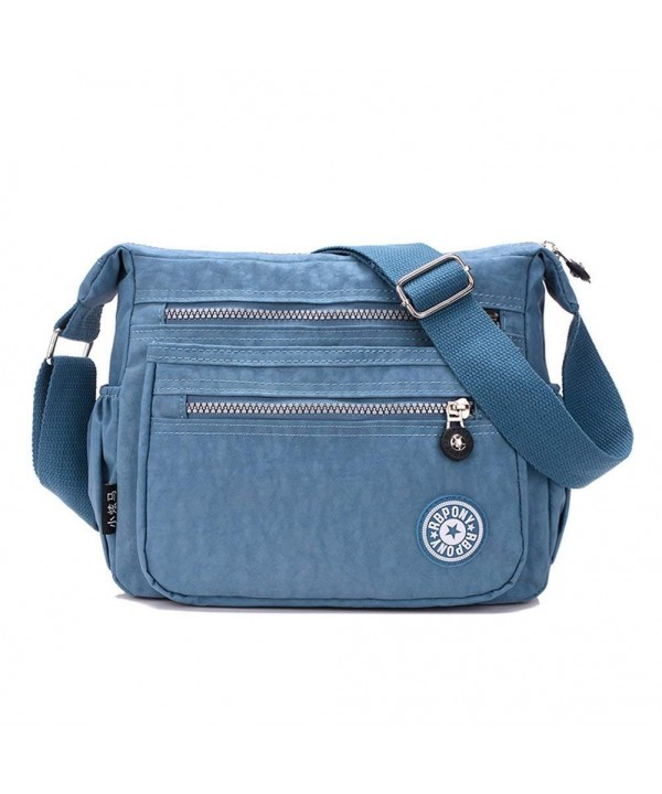 Crossbody Adjustable Shoulder Handbag Blue 2