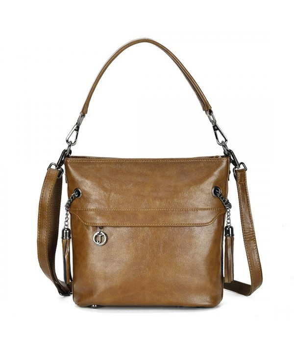 Artrwell Crossbody Shoulder Leather Handbag