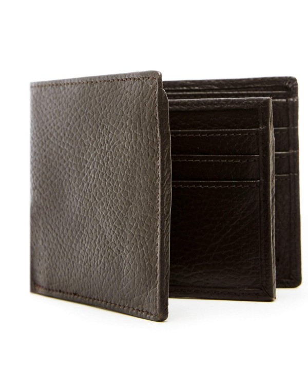 Genuine Leather Wallets Men Blocking