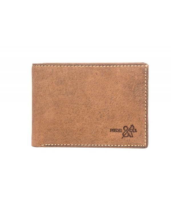 Genuine Handmade Leather Bifold Wallet