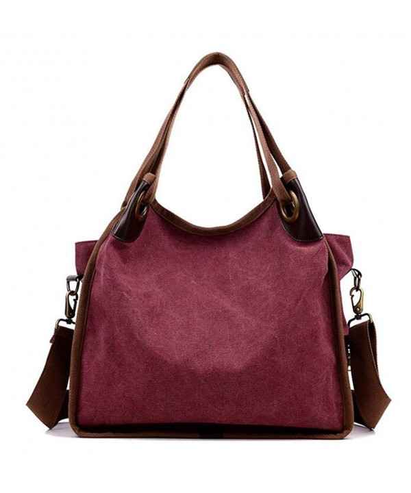 KISS GOLD Handbag Shoulder Burgundy