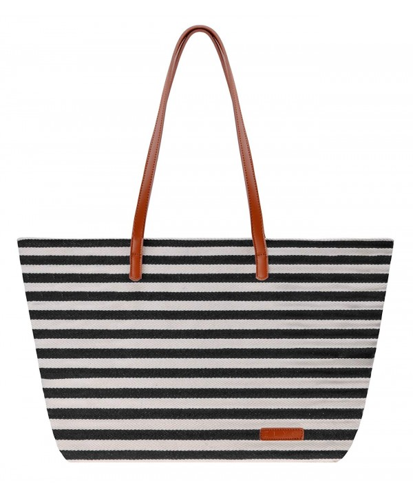 Canvas ZLYC Stripe Shoulder Shopper