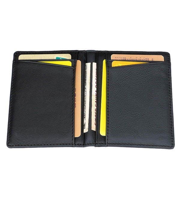 Wallets leather Blocking Pocket Credit