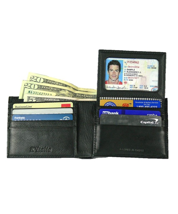 KItalia Leather Wallet Removable Genuine