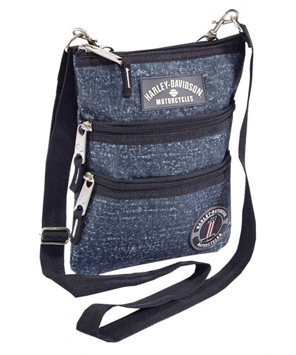 Harley Davidson Womens Cross Body Crossbody 99616 BLUE