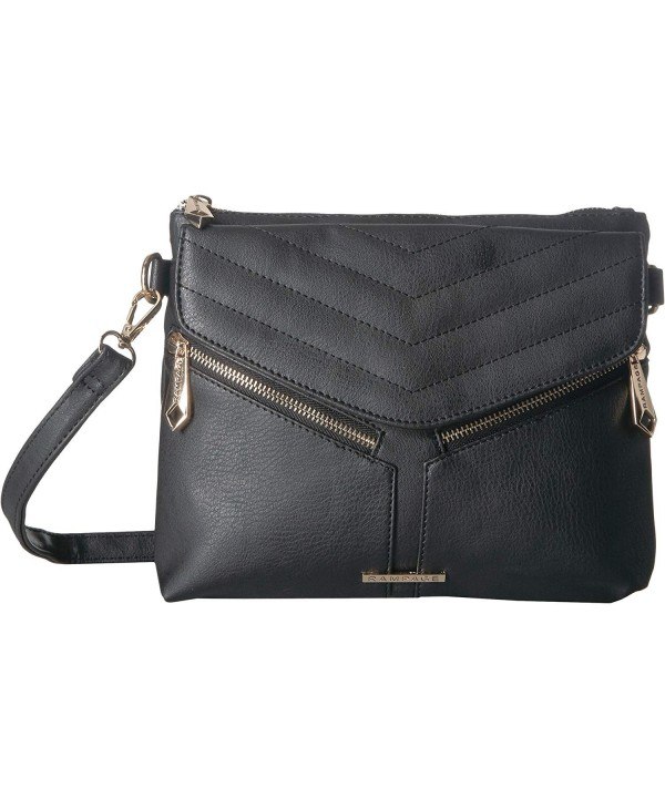 Rampage Womens Chevron Quilt Crossbody