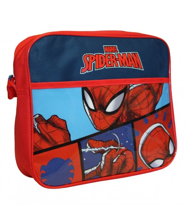 Spiderman Courier Messenger Bag Red