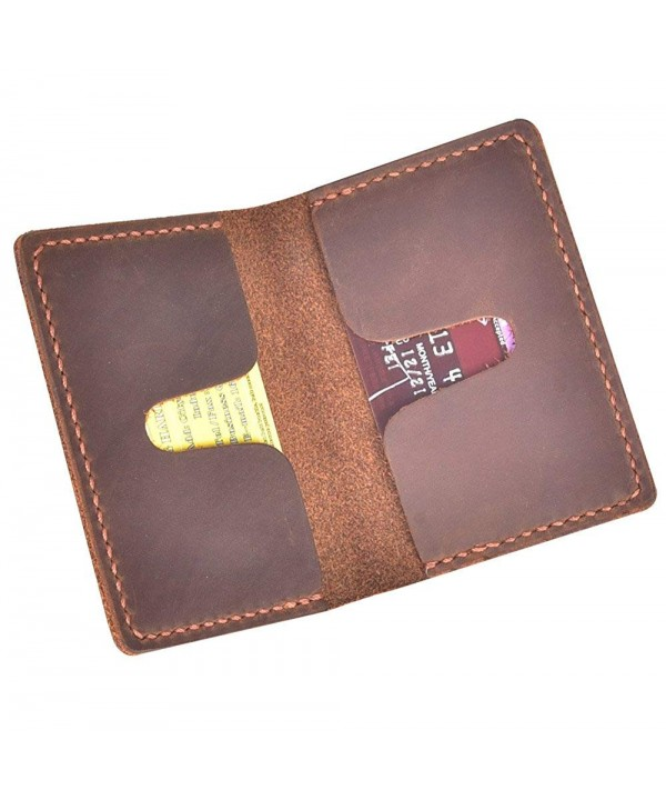 Talleffort Handmade Leather Wallet Credit