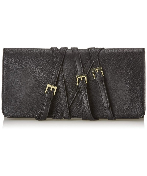 BCBGeneration Quinn Cooper Clutch Black