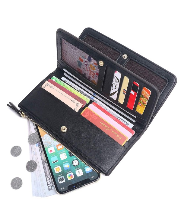 Kueh Wallets Clutch Trifold Organizer