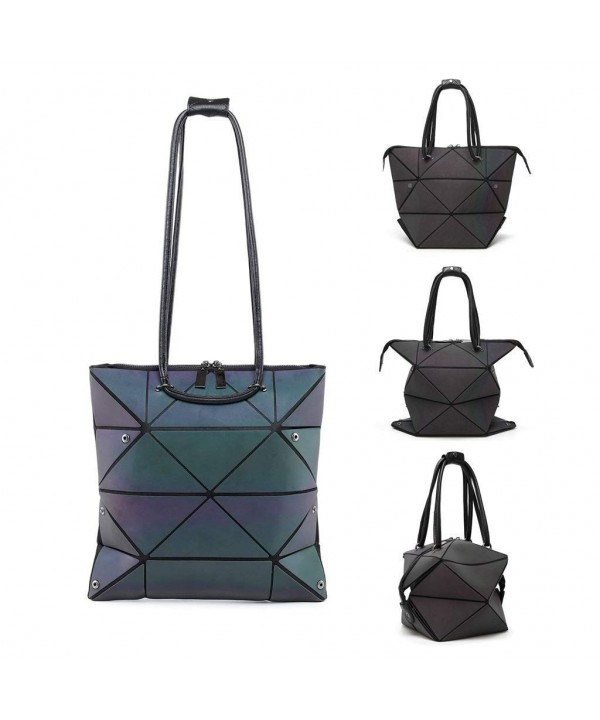 Geometric Handbags Large capacity Deformable Difference