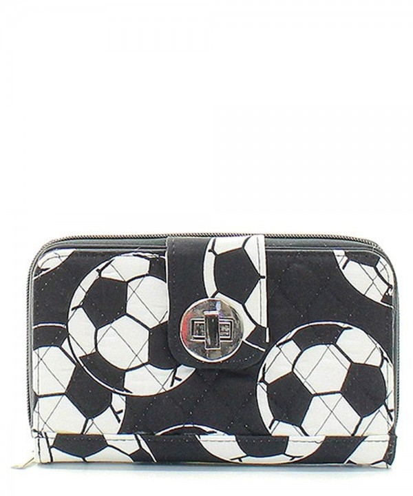 Soccer Sports Quilted Canvas Organizer