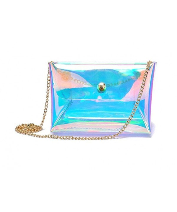 Remeehi Hologram Transparent Shoulder Messenger