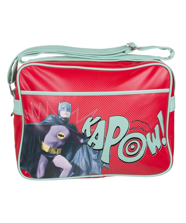 Red Batman Kapow Retro Messenger