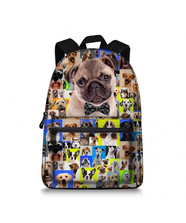 Animal Backpack BullDog Border Designs