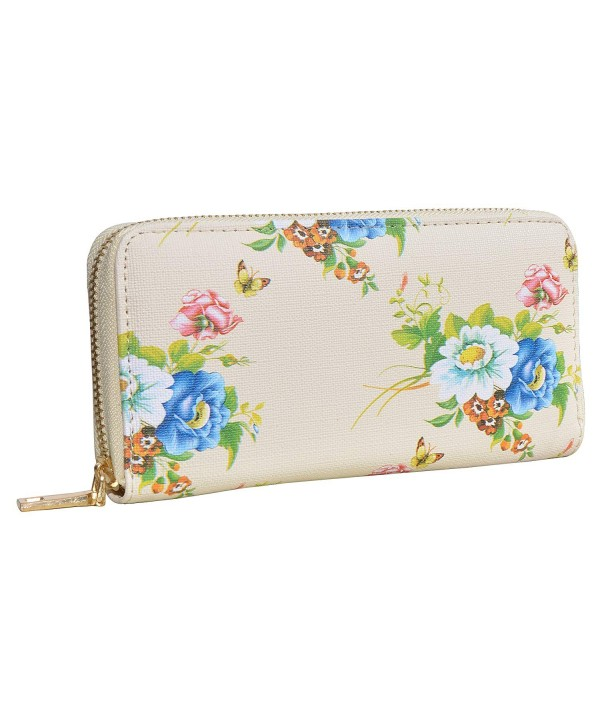 Outrip Womens Leather Wallet Clutch