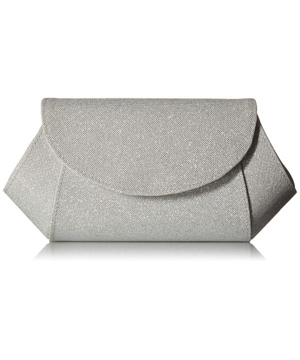 AMITEE C Clutch Silver Bliss Size