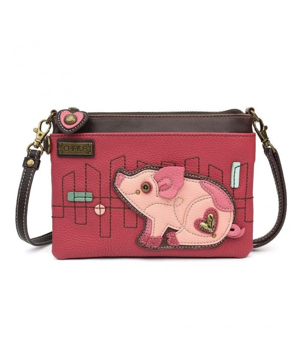 Chala Mini Cross body Messenger Pink