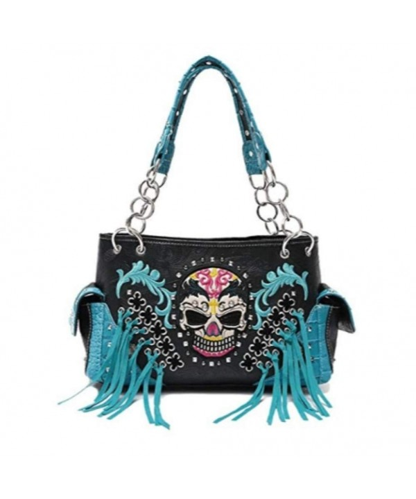 Western Handbag Whipstitch Concealed Shoulder