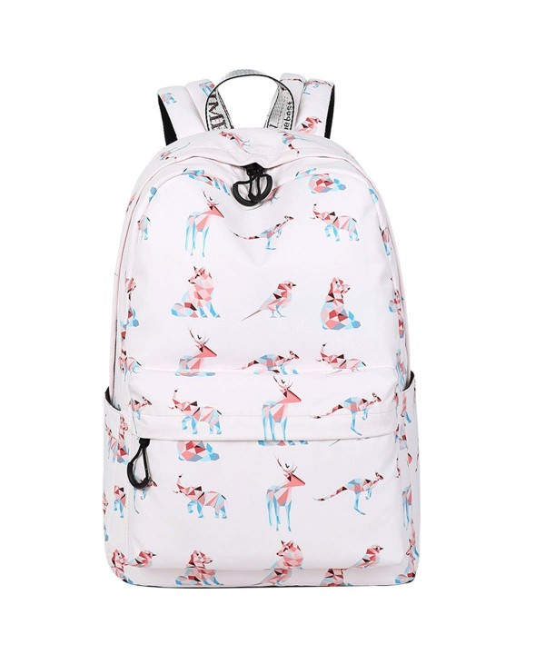 Girls Backpack School Bookbag Laptop
