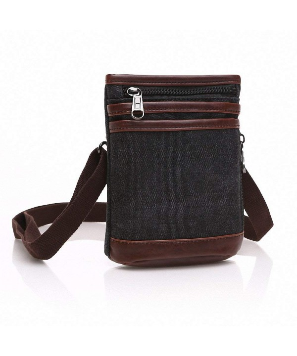Mestart Canvas Shoulder Messenger Wallet
