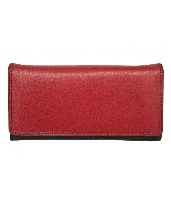 ili Leather Wallet Lining Black