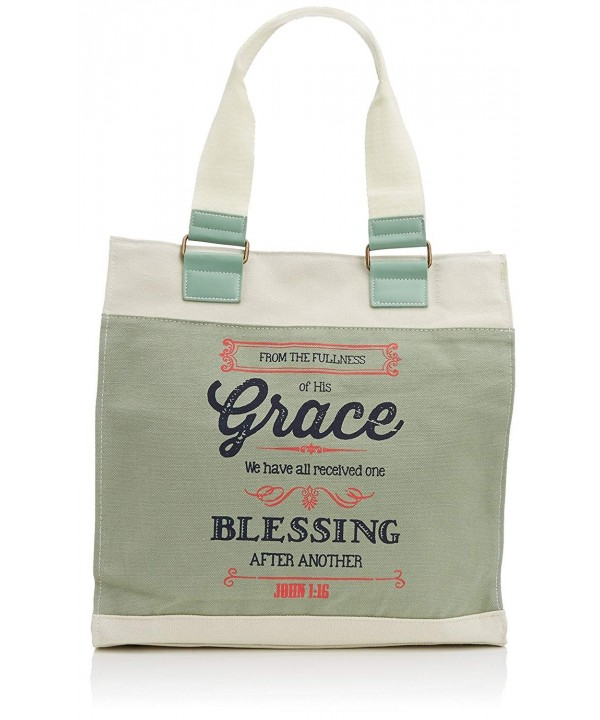 Retro Blessings Grace Washed Canvas