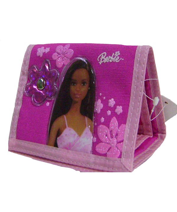 Sparkle Barbie Pink Tri fold Wallet