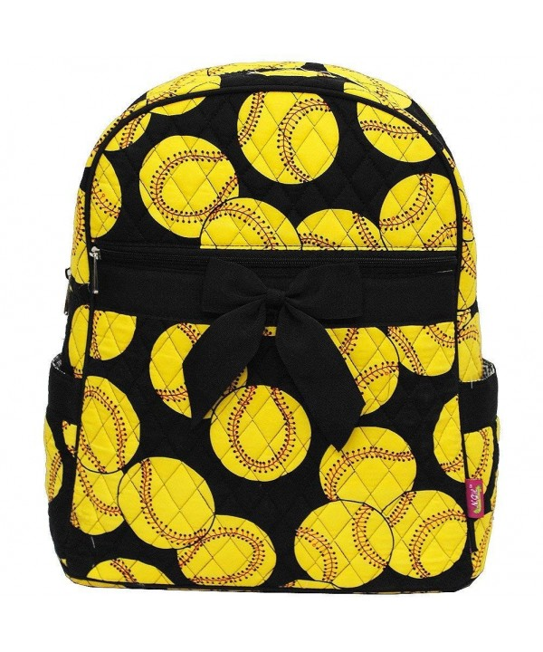 Softball Print NGIL Quilted Backpack