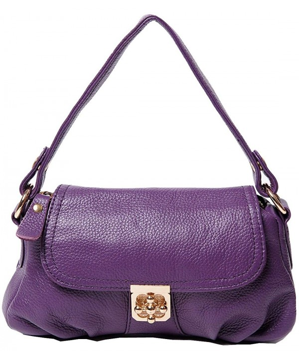 Hereby Leather Classic Shoulder Handbag