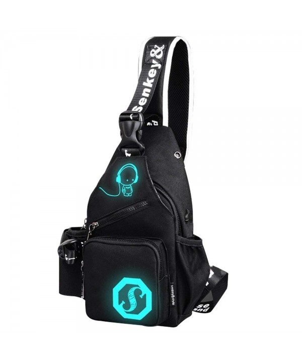 Mens Womens Luminous Sling Charging